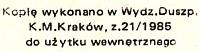 Jan Paweł II List apostolski Ojca Świętego Jana Pawła II do młodych całego świata z okazji Międzynarodowego Roku Młodzieży Kraków Wydział Duszpasterstwa Kurii Metropolitalnej 1985 k012346 m-ws.pl Muzeum Wolnego Słowa www.m-ws.pl/muzeum/